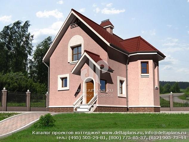 Проект сезонного дома 8х8